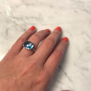 David Yurman Large Aqua Ring